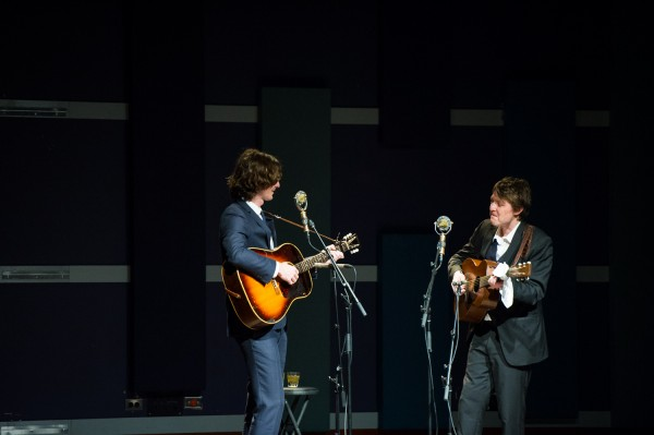 The Milk Carton Kids @ World Cafe Live (4/22/2013) | © Joe Dantone