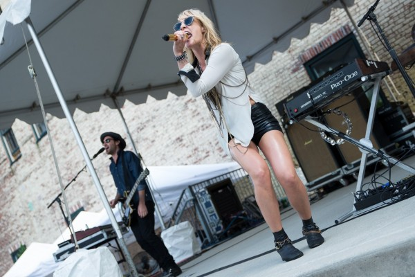 Metric @ The Piazza at Schmidt's (6/8/2013) | © Erika Reinsel