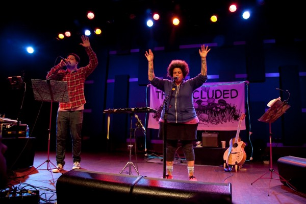 The Uncluded @ World Cafe Live (5/29/2013) | © Corinne Ryan