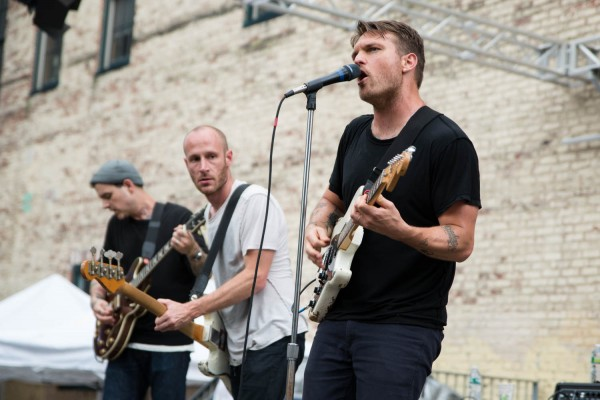 Cold War Kids @ The Piazza at Schmidt's (7/13/2013) | © Erika Reinsel