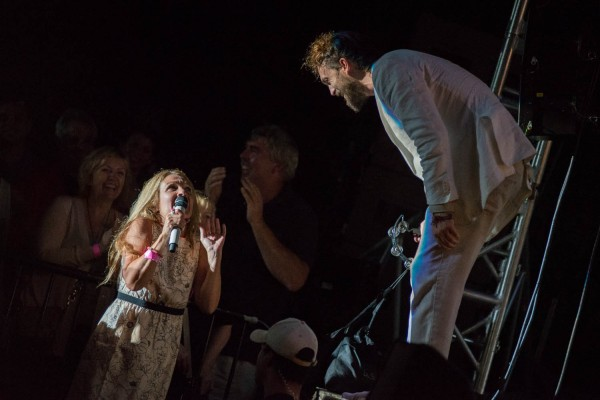 Edward Sharpe and the Magnetic Zeros @ Longwood Gardens (8/28/2013) | © Erika Reinsel